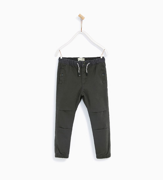 Boys Cargo Trousers: Sale $14.95, Regular $29.90