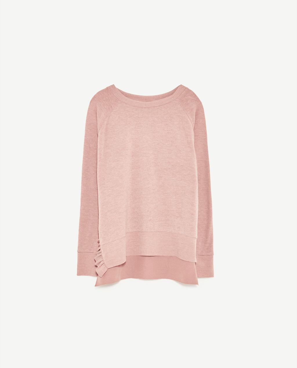 Women's Frill Sweater: Sale $14.95, Regular $29.90