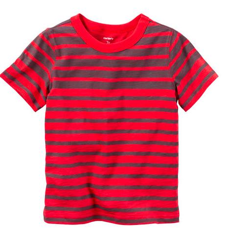 Striped Tee - Sale $4, Regular $12