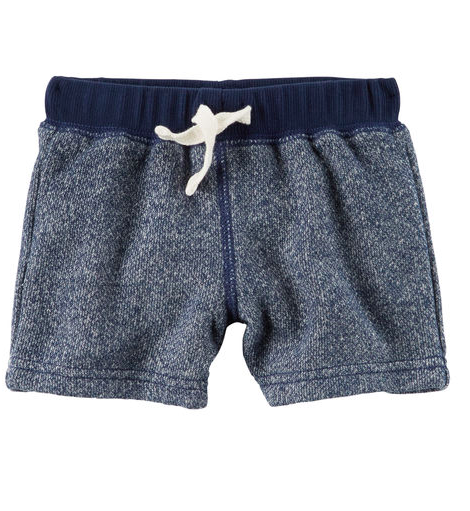 Marled French Terry Short - Sale $5, Regular $12