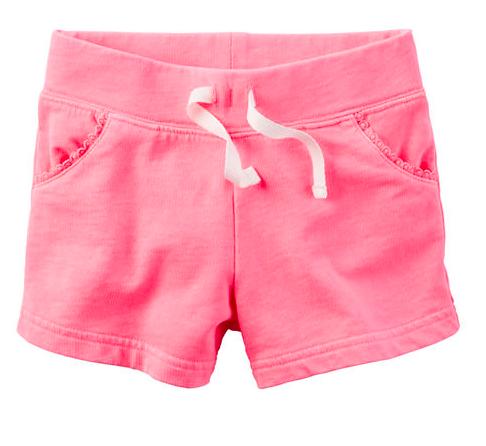 Baby Girl Neon French Terry - Sale $5, Regular $12
