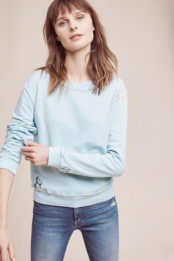 Laced Terry Sweatshirt: Sale $22.46, Regular $88.00