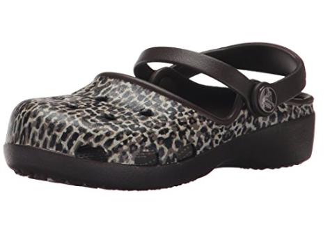 Crocs Karin Leopard - Sale $5.75 (size 6 toddler), Regular $18.99