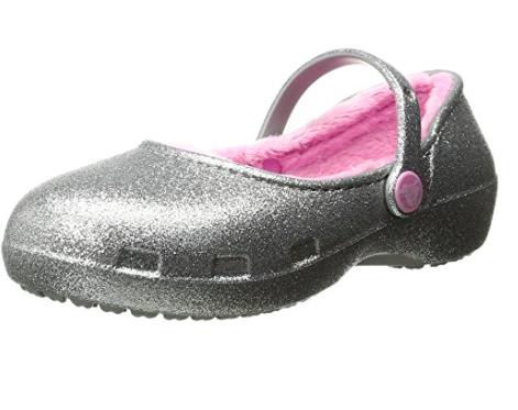 Crocs Karin Sparkle - Sale $5.89 (size 6 toddler), Regular $39.99