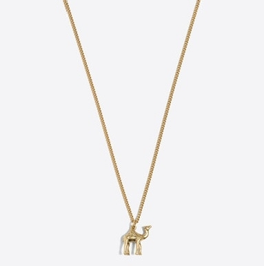 Camel Pendant Necklace: Sale $8.49