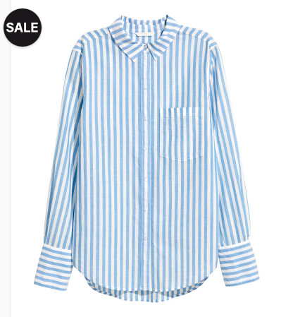 Cotton Shirt - Sale $14.99, Reg $24.99