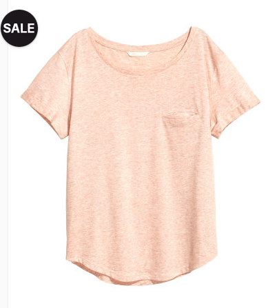 Jersey top - Sale $6.99, Reg $9.99