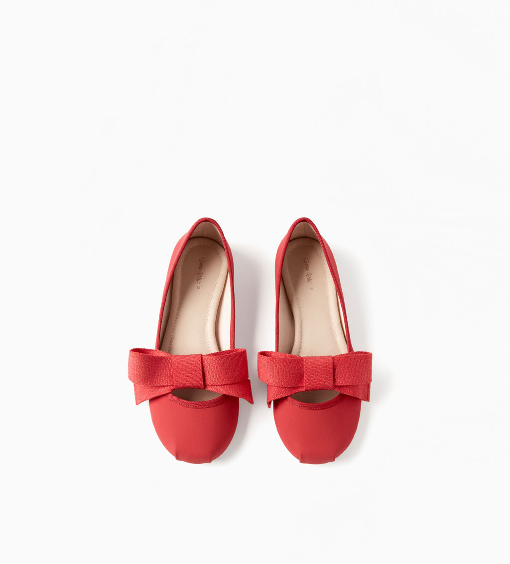 Ballerinas w/Bow: Sale $12.99, Regular $22.99