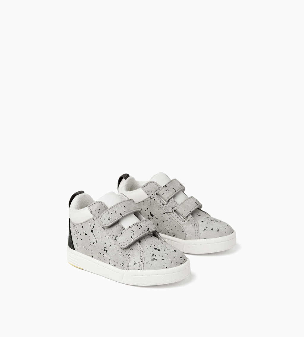 Hook and Loop High-Top Sneakers: Sale $15.99, Regular $35.90