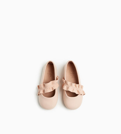 Frill Ballerinas: Sale $12.99, Regular $25.90