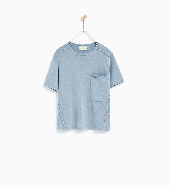 T-Shirt w/Large Pocket: Sale $7.99, Regular $17.90