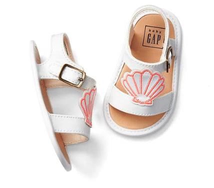 Shell Sandals - Sale $6.39, Reg $24.95