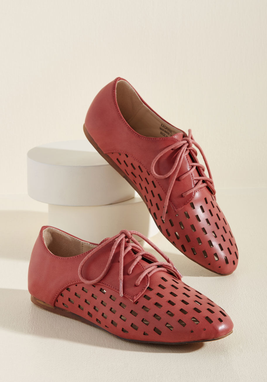 Just Gotta Vent Oxfords: Sale $23.99, Regular $49.99