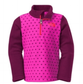 North Face Toddler Girls Glacier 1/4 Zip: Sale $11.24, Regular $30.00 (Only available in size 4T)