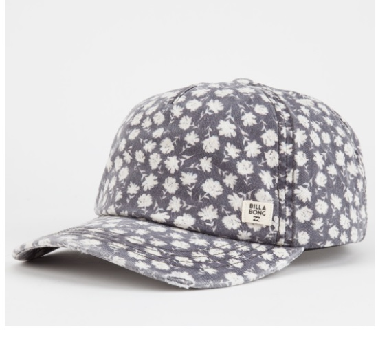Billabong Beach Club Womens Strapback Hat: Sale $9.99, Regular $22.99