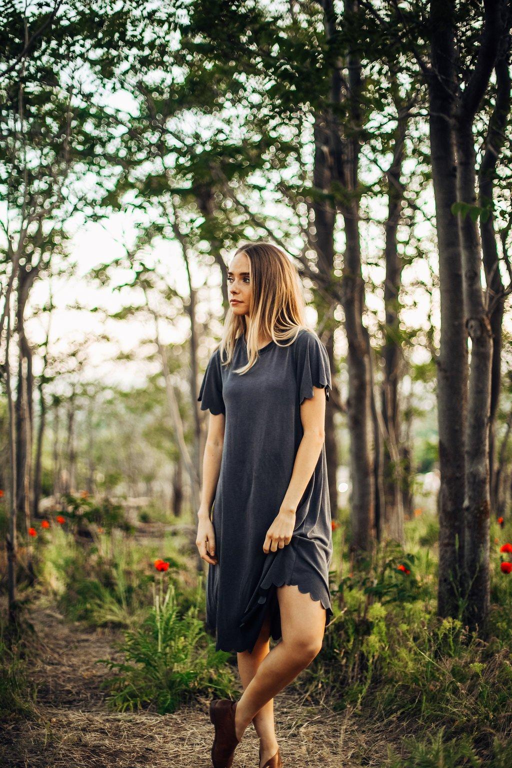 FloretteScalloped Dress: Sale $16.80, Regular $42.00