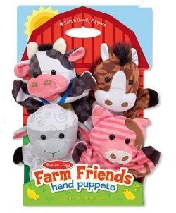 Farm Friends Hand Puppets: Sale $12.49, Regular $20.00