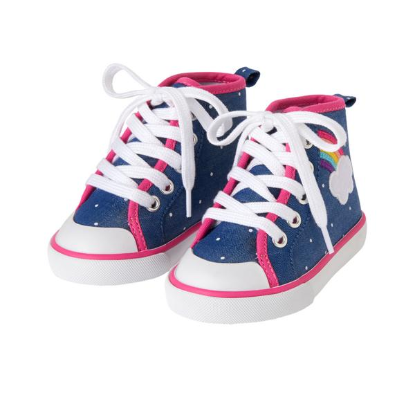 Toddler Girls Rainbow Sneakers: Sale $6.99, Regular $32.95