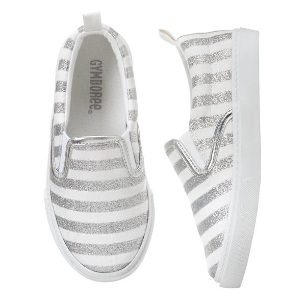 Girls Slip-on Sneakers: Sale $6.99, Regular $29.95