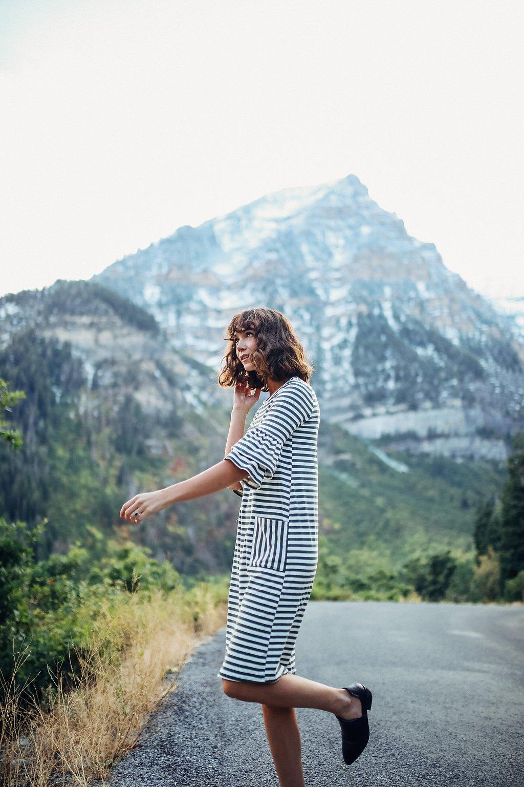 Desmond Striped Pocket Dress: Sale $25.20, Regular $46.00