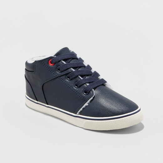 Boys Rex Mid-Top Sherpa Sneakers: Sale $3.00, Regular $10.00