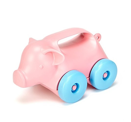 Green Toys Pig-on-Wheels: Sale $6.34, Regular $12.99