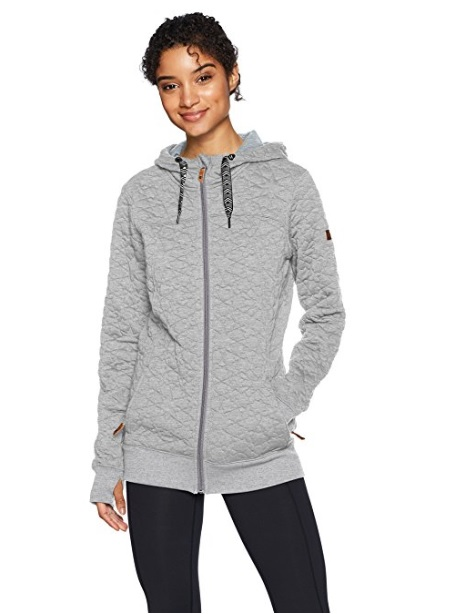 Roxy Snow Frost Fleece Jacket (Heritage Heather): Sale $39.98, Regular $99.95