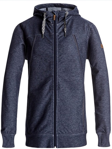 Roxy Snow Frost Fleece Jacket (Peacoat): Sale $39.98, Regular $99.95