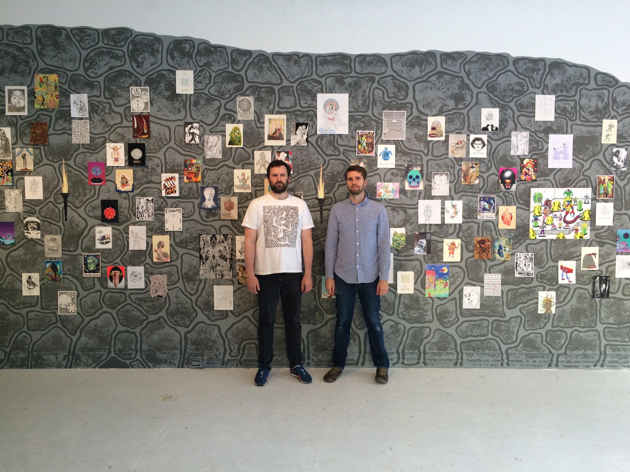 curators Casey Jex Smith and Ryan Browning