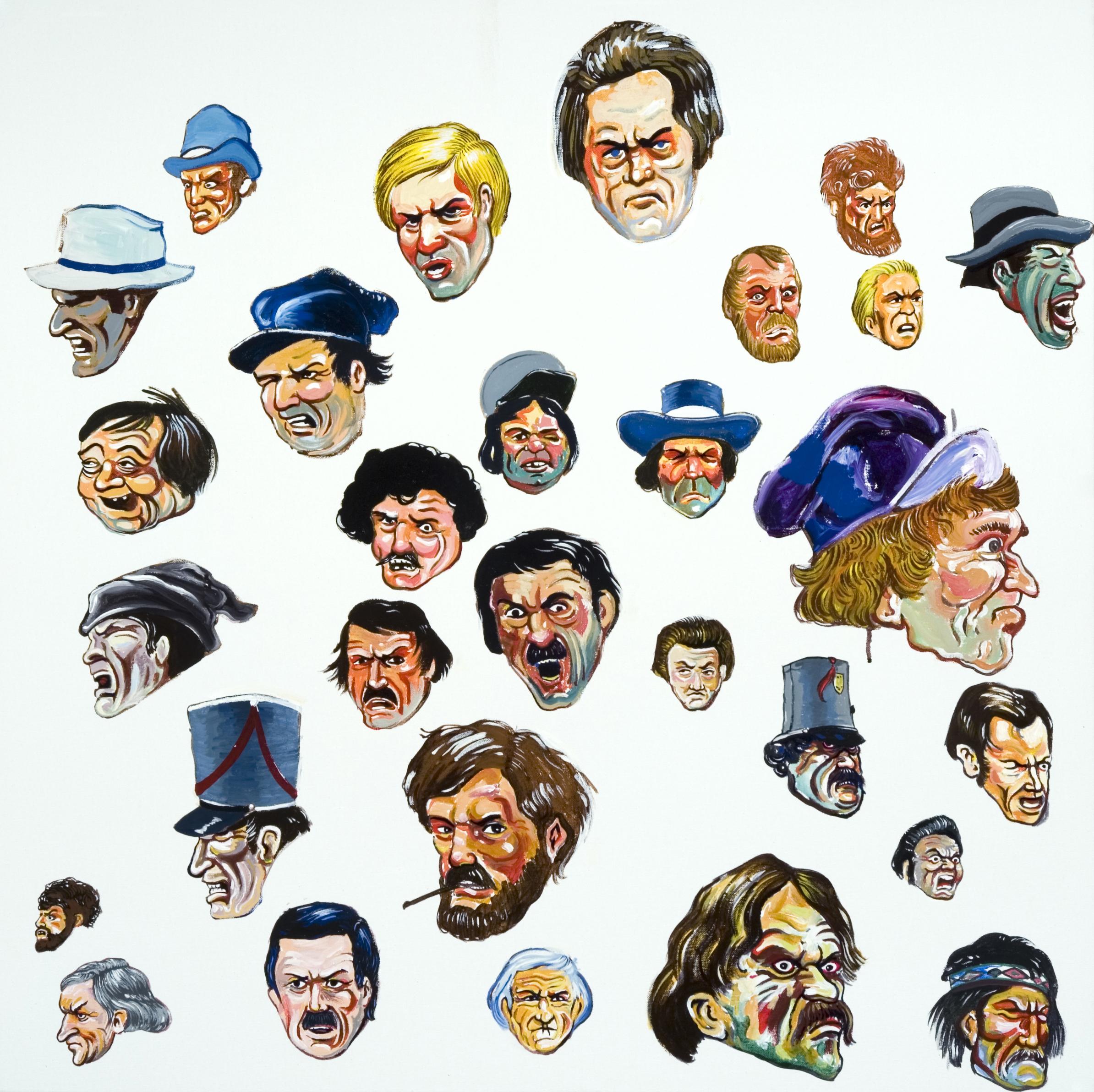29 Mob Faces