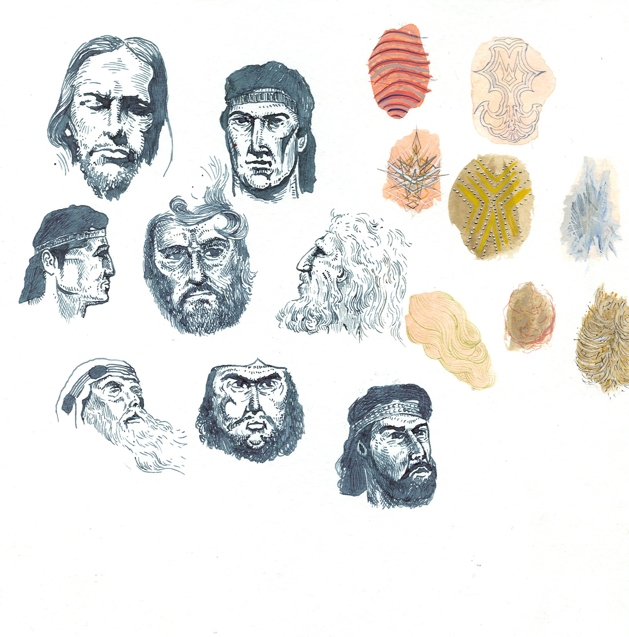 8 Book of Mormon Faces and Their Corresponding Black Matter