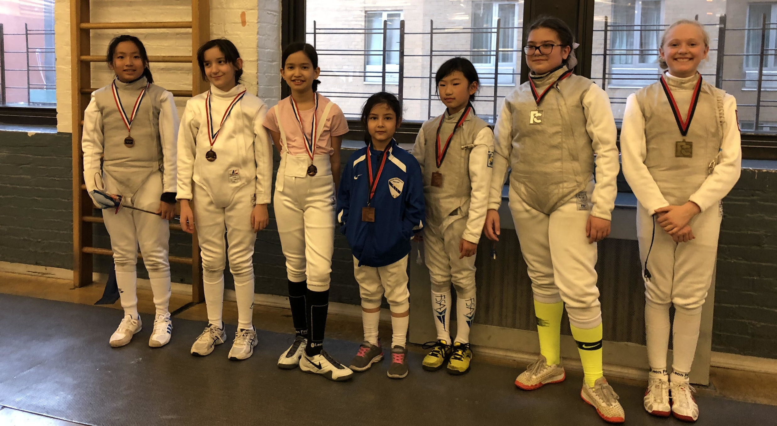 Fencers Club Youth Tournament  Emily Cascone 3rd place Y10 women's December 9th 2018