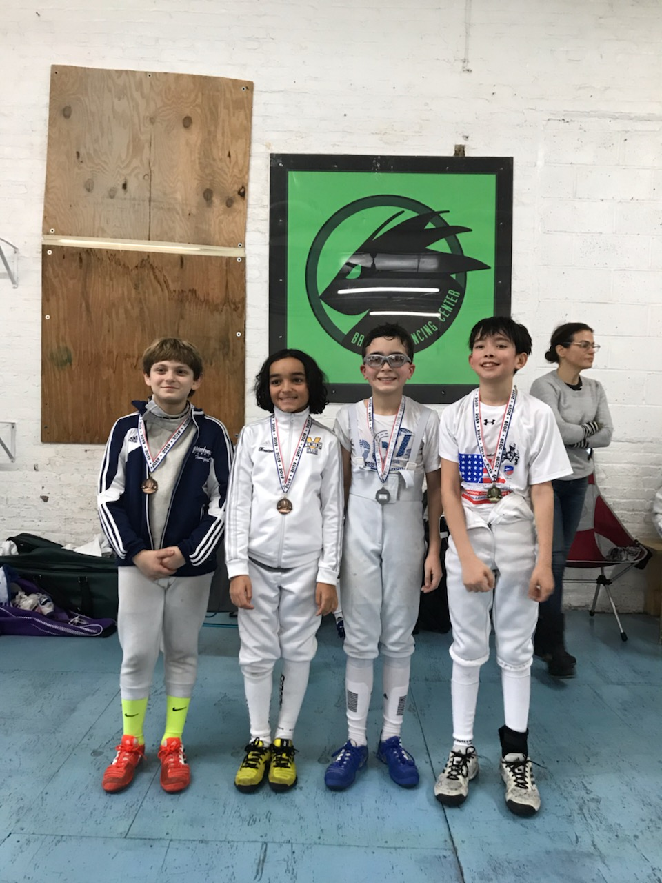 Brooklyn Youth Tournament  Sebastian Garcia 2nd place Y12 mixed January 13th 2019