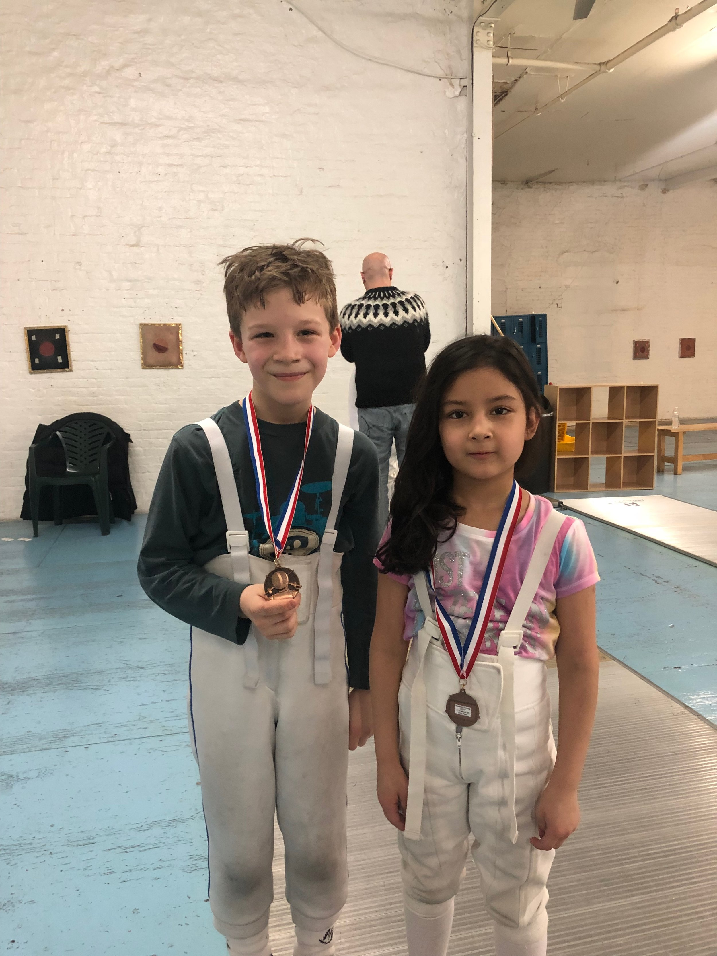 Brooklyn Youth 10 Henry Woodcock 3rd place Emily Cascone 3rd place March 2nd 2019