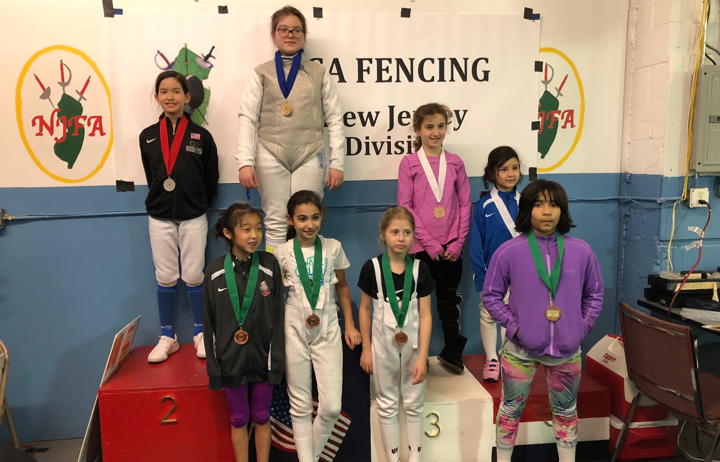 NJFA Regional YOUTH Y10 Emily Cascone 3rd place  March 9th 2019