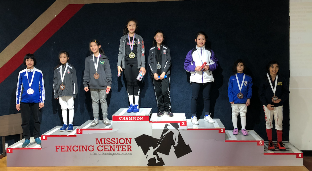 MISSION SYC Y10 Emily Cascone 6th place  earning national point May 3rd 2019