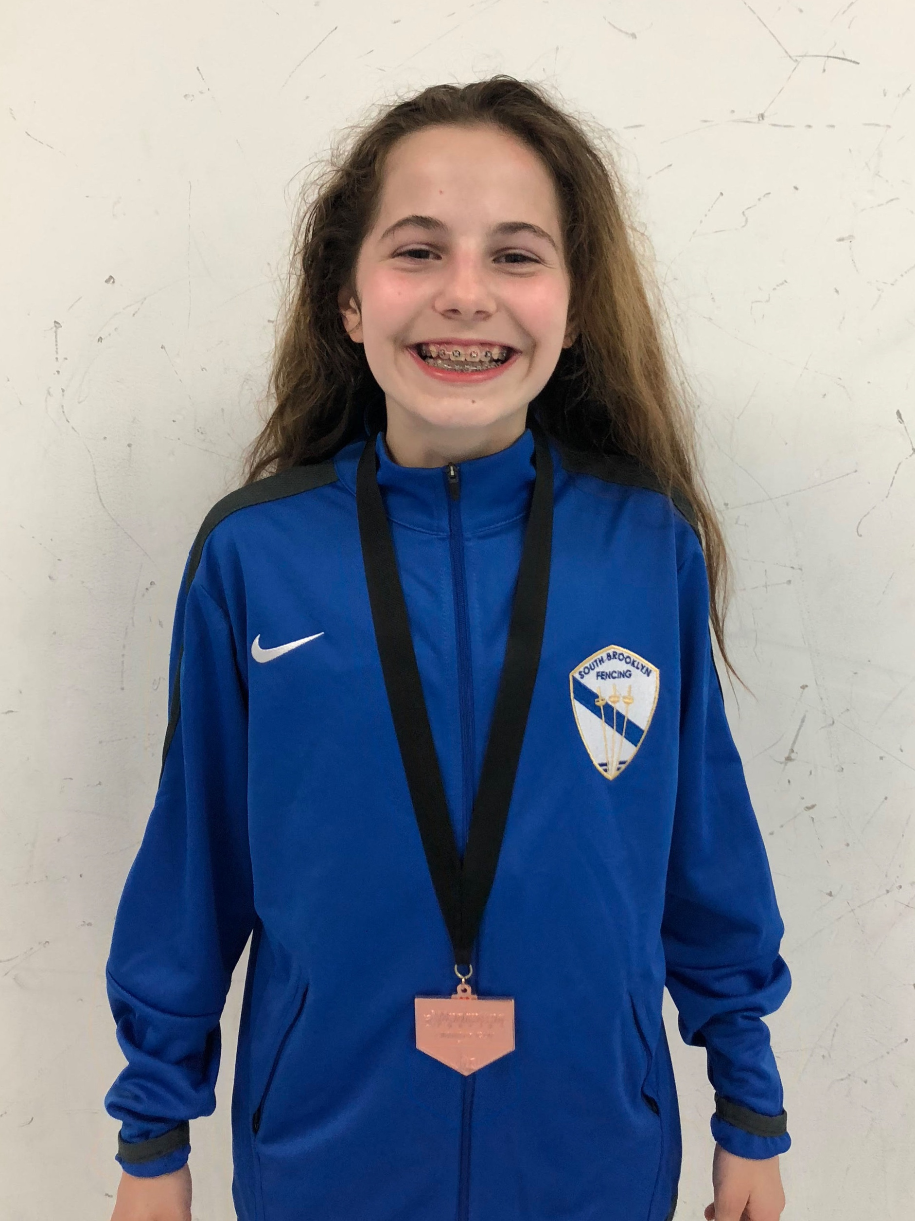 MFC LIBERTY CUP 2019 - Y12 women's foil Xeta Devlin 8th place Sara Amr Hossny 5th place Emily Cascone 6th place   May 19th 2019