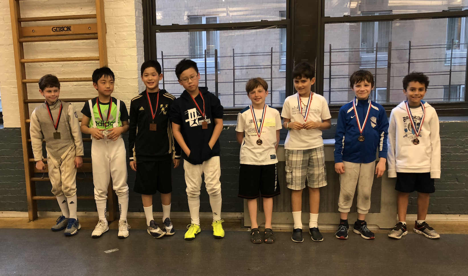 Fencers Club - Y10 men's foil Henry Woodcock 7th place   May 26th 2019