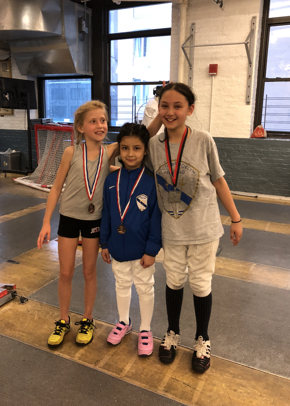 Fencers Club - Y10 women's foil Alex Lambrechts 2nd place Emily Cascone 5th place Mariia Yurkova 6th place  May 26th 2019