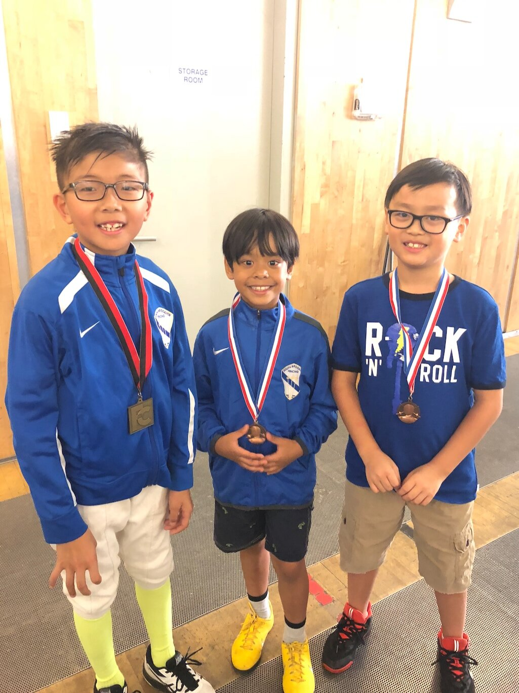 FC Youth Tournament   Ethan Mo 1st place Y8 mixed foil Ryan Liu 6th place Y8 mixed foil Phineas Kuo 8th place Y8 mixed foil Valentina Visco 9th place Y8 mixed foil Sophie Cascone 10th place Y8 mixed foil  September 22nd 2019