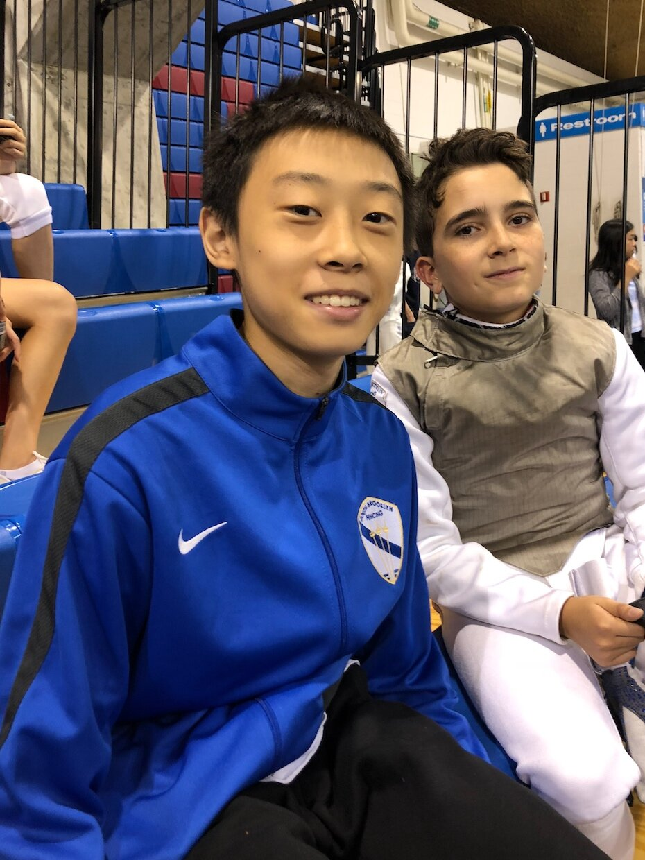FC Youth Tournament    Jacob Guo 1st place Y14 mens foil      September 22nd 2019
