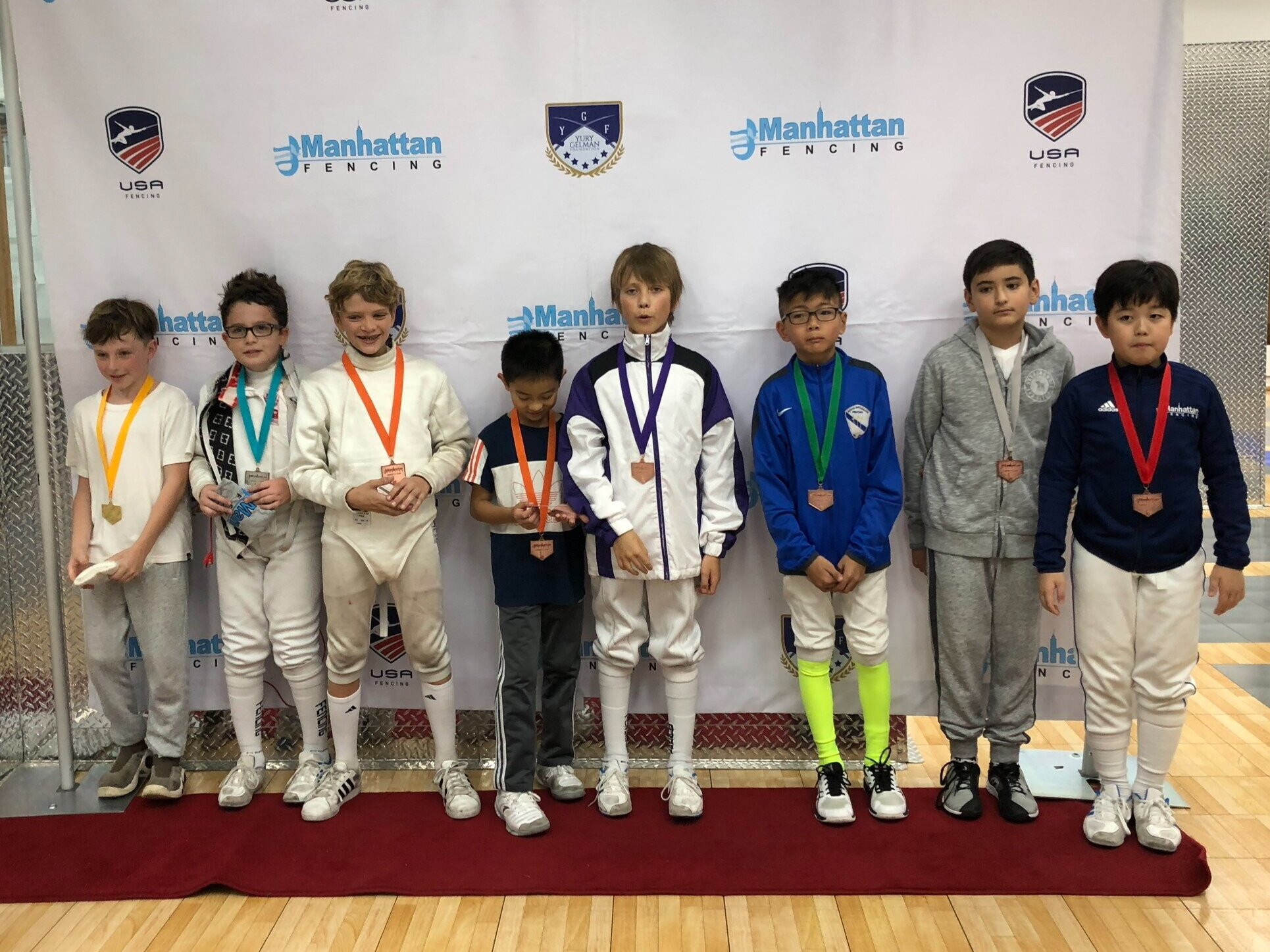 MFC Liberty Cup Y10 mens foil  Ethan Mo 6th place