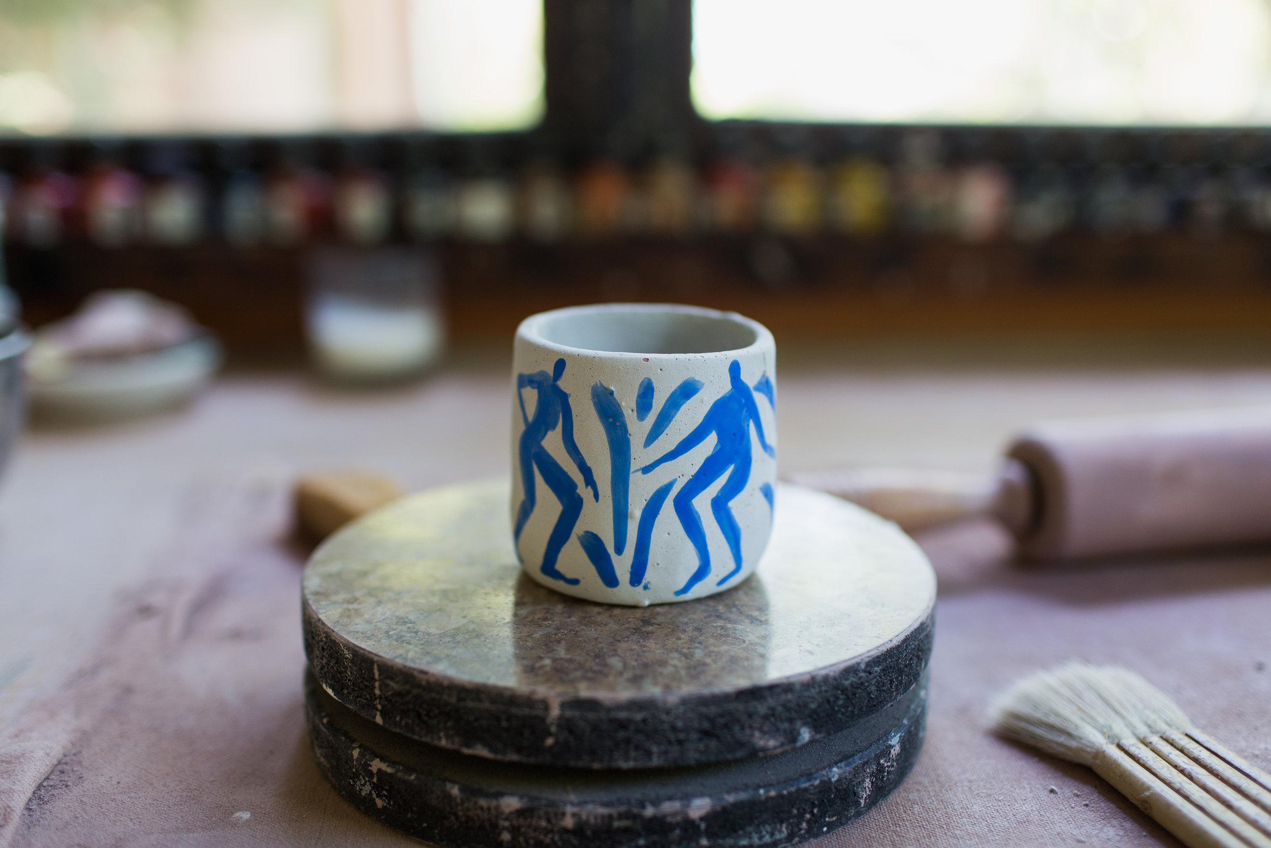 Michelle Blade - Ceramic Artist and Painter. Portland, OR.