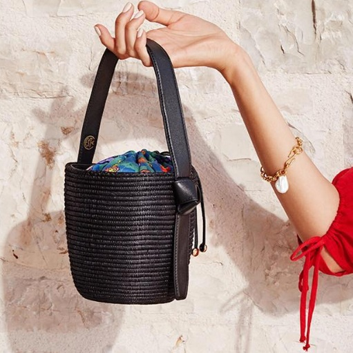 cesta collective - oh my bucket bag. handwoven in rwanda.