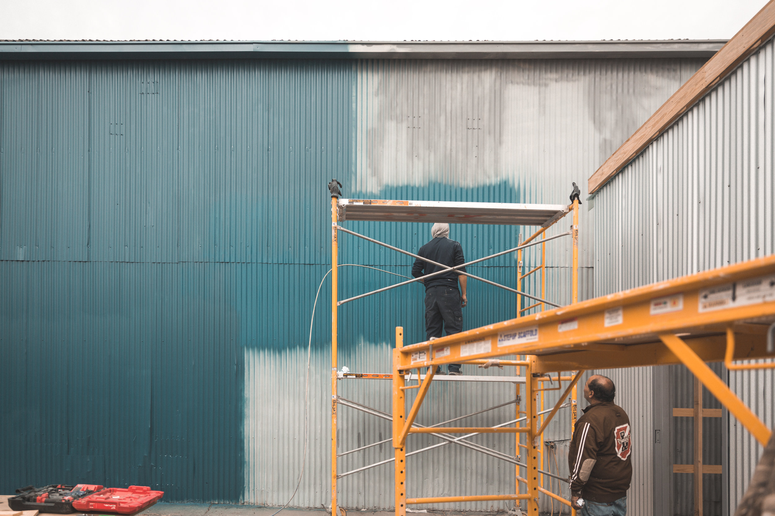 Miel Brewery_Under Construction_Painting Building_2.jpg