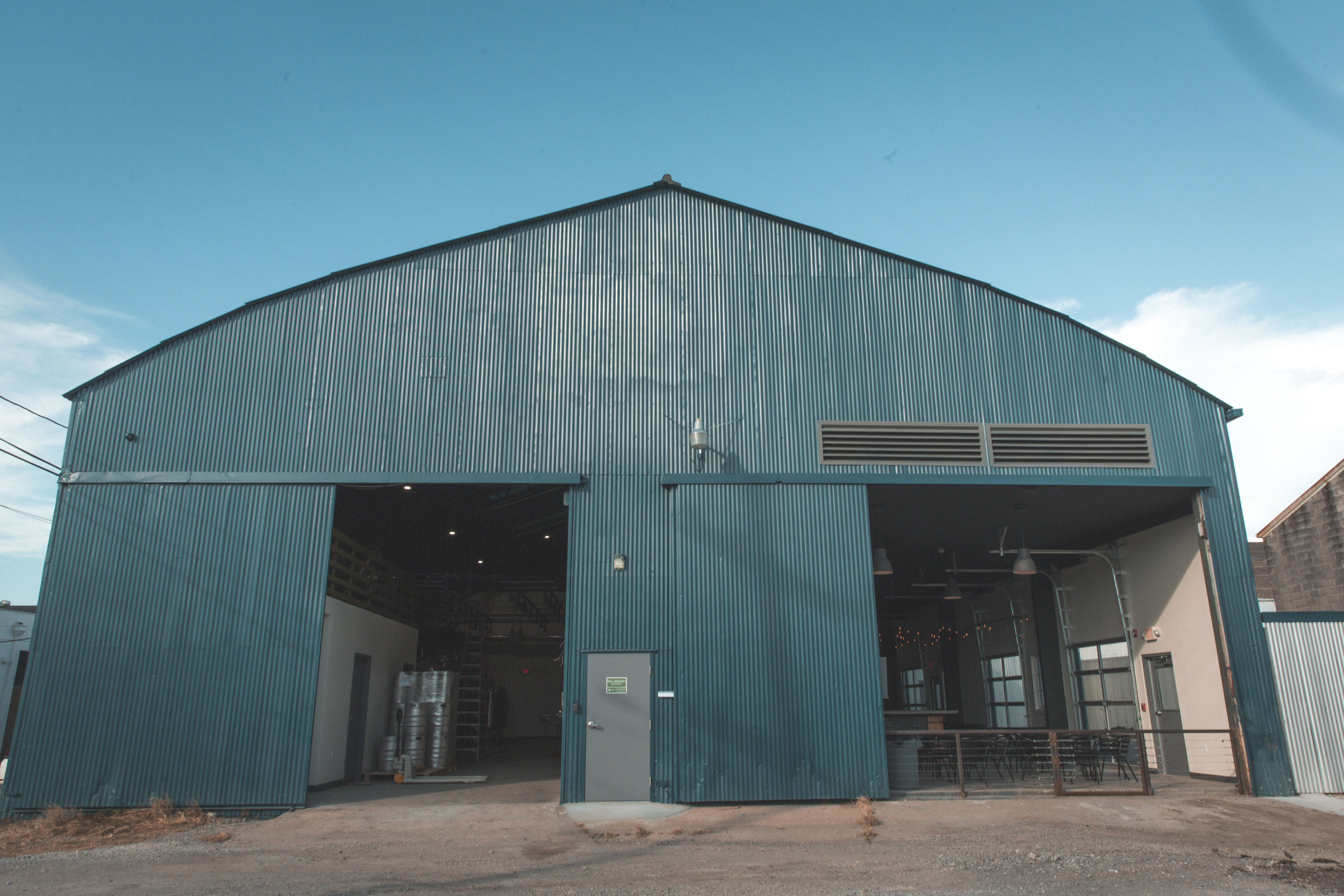 New Orleans_Miel Brewery_July 2018_Miel open doors outside
