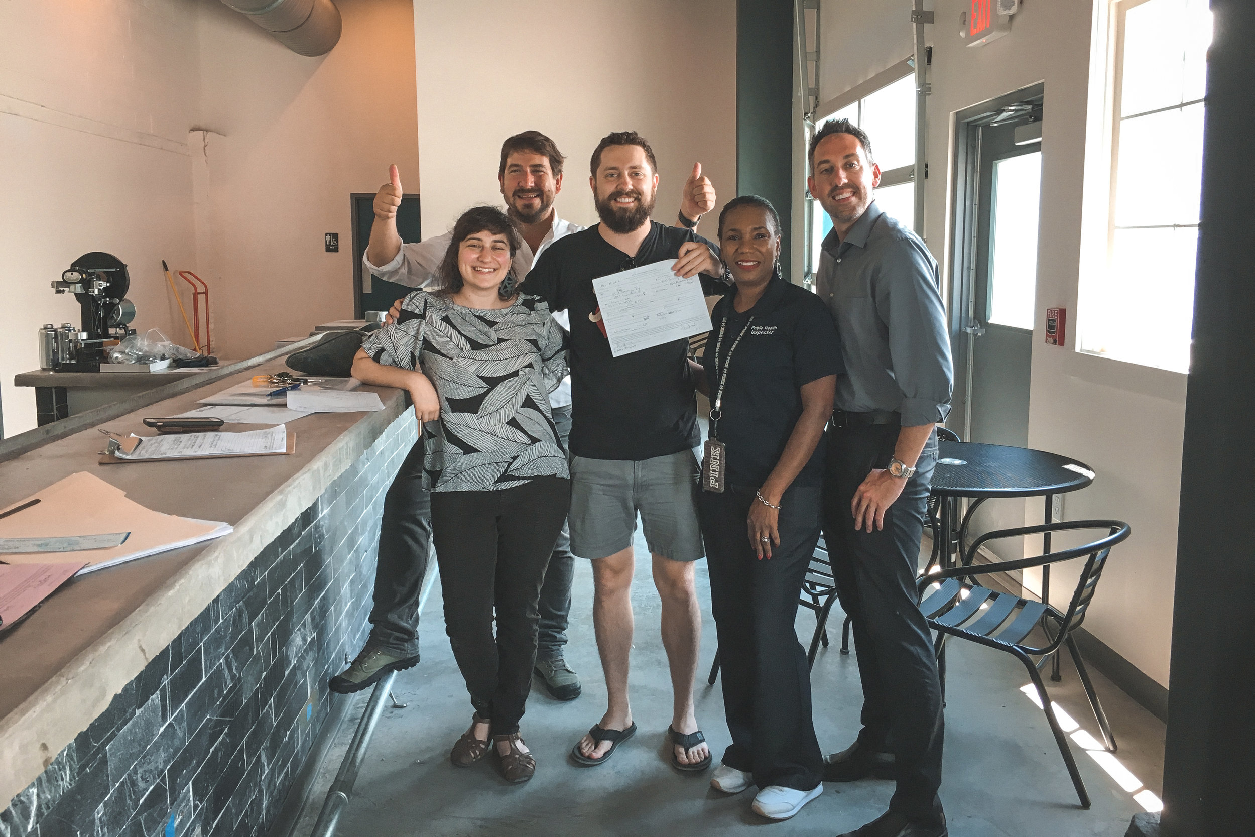 New Orleans_Miel Brewery_July 2018_Health Inspection