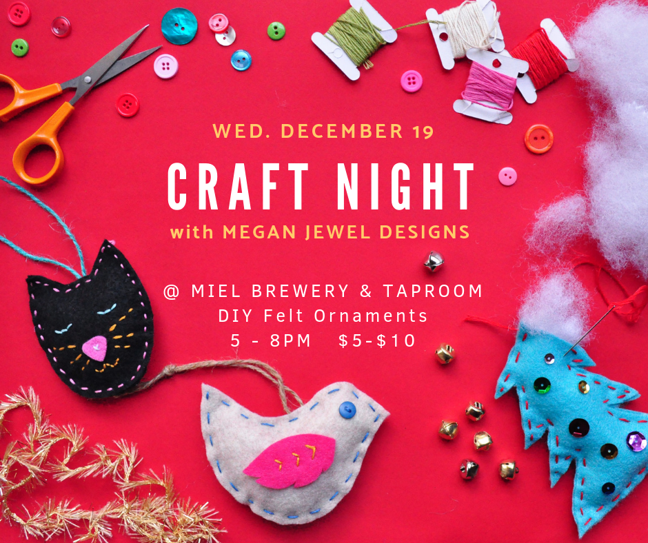 Miel Brewery_Craft Night with Megan Jewel Designs