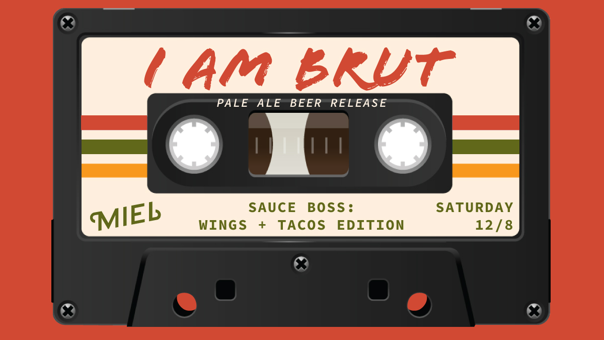Miel Brewery_Beer Release_I AM BRUT Pale Ale