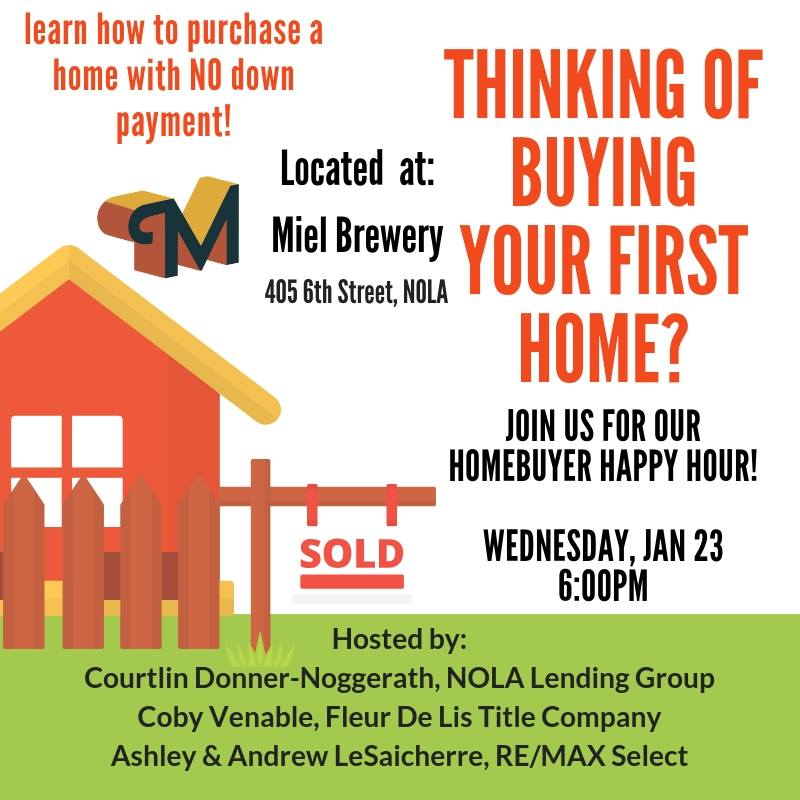 Miel Brewery_January_Home Buyer Happy Hour
